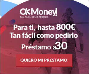 Consigue hasta 600 € en 10 minutos en Ok Money