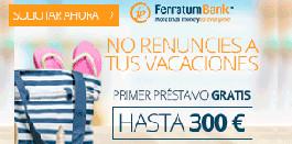 Créditos rápidos online - Ferratum Bankl