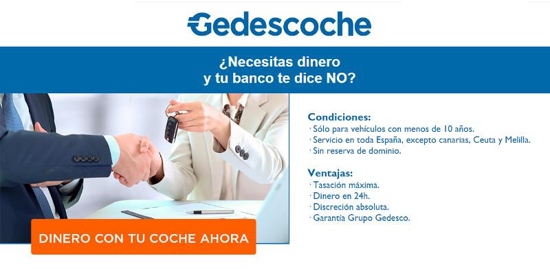 Gedescoche - Solicitar un préstamo por tu coche